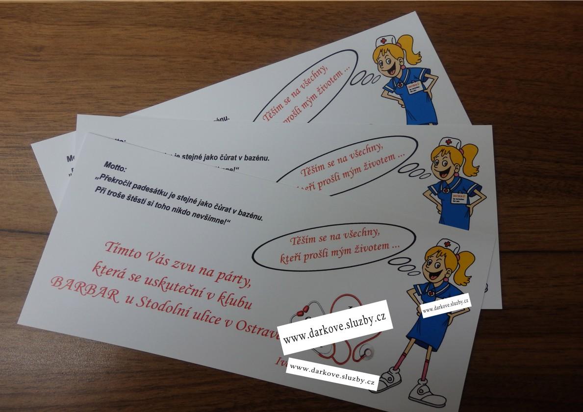 výroba pozvánek k narozeninám Výroba pozvánek a originálních blahopřání v Ostravě | Služby pro  výroba pozvánek k narozeninám
